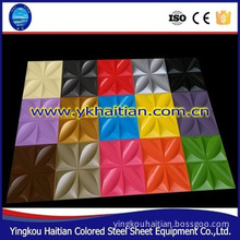 Color Steel Material Product,fire Preventation And Waterproof 3d Acoustic Diffuser Wall Panel