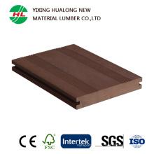 Decking compuesto plástico de madera sólida (HLM166)