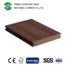 Decking composto plástico da madeira contínua (HLM166)