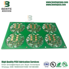 TG135 Multilayer PCB Dik Goud