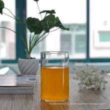 Große Kapazität Borosilikat Single Wall Trinkglas