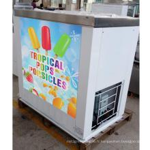 Machine à sucettes glacées aux fruits frais