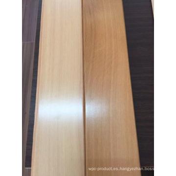 Acabado liso Suelo de madera de cedro rojo