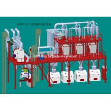 5-100 T / 24h Maíz de China maquinaria de molienda, maíz de procesamiento de la máquina