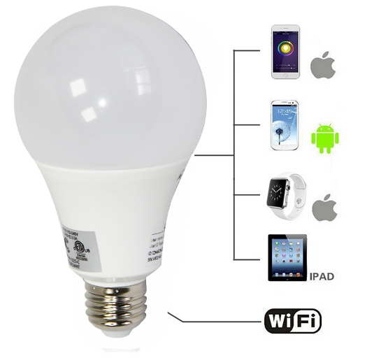 WIFI RGB Bulb Coloring Changing Smart Bulb