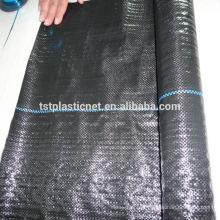 Folha da membrana da tela da tampa à terra do controle de ervas daninhas do geotêxtil 100gsm