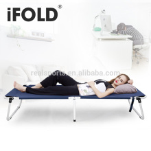 Portable folding bed/cheap bed/ outdoor camping bed adult folding single bed
