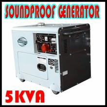 5kw 5kVA diesel silencieux générateur portable mini générateur