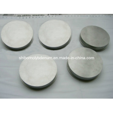 Disque rond en molybdène poli de grande pureté
