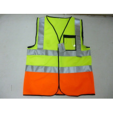 Two Tone Reflective Safety Vest