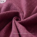 Viscose Linen Polyester Blend Dobby Sofa Upholstery Fabric