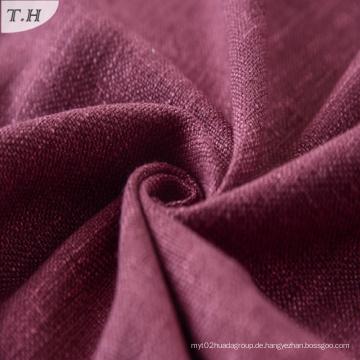 Viskose Leinen Polyester Blend Dobby Sofa Polsterung Stoff