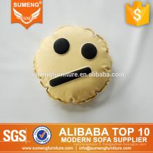 SUMENG mignon oreiller emoji en peluche pour salon CE006