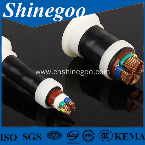 XLPE steel armoured flame retardant power cable