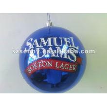 bola de pintura de natal