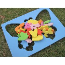 desenhos animados animais puzzles 2-5 anos de idade criança crianças brinquedos puzzle brinquedos educativos aprendizagem unisex