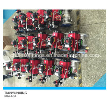 ISO 5211 Funda de montaje alta Válvula de bola de acero inoxidable