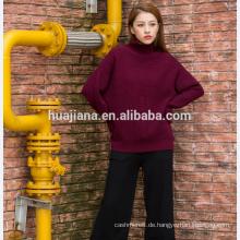 Frau Kaschmir plus Größe Pullover