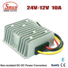 24В 12В 10А Водонепроницаемый DC DC шаг вниз конвертер