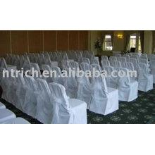 100 % Polyester Stuhlabdeckung, Stuhlabdeckung, Bankett-Stuhl-Abdeckung, Organza Schärpen Hochzeit