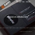 Hot Stamping letterpress paper design my business card