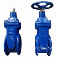 Válvula de porta de liberação rápida de operador hidráulico