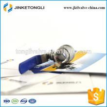 JKTL2B002 manufacture 2 piece handles ss316 1/4 inch ball valve