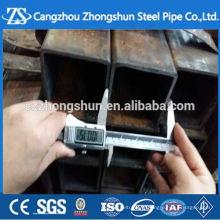 Rechteckiges Stahlrohr Größentabelle