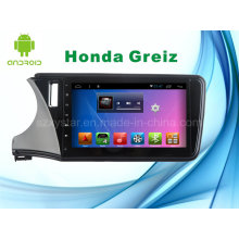 for Honda Greiz Android System Car DVD Player GPS Navigation for 10.1inch Touch Screen with Bluetooth/WiFi/TV