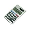 pocket aluminum  calculator 12 digital with solar power
