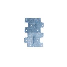 OEM Stamping Aluminum Zinc Alloy Plate Side Fastening Plate Stamping Parts Stamping