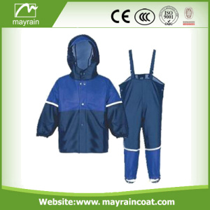Impermeabile Shiny PU bambini Fire Men Rainsuit
