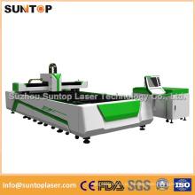 Máquina de corte do laser da fibra de 1000W para o corte de aço de 10mm / máquina de corte do laser de aço