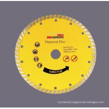 Sintered Diamond Disc with Turbo Saw Blade