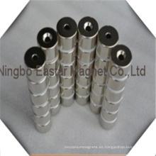 Alto grado bloque neodimio/NdFeB magnético para motores de corriente continua