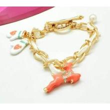 Christmas Jewelry/Christmas Bracelet/Christmas Deer (XBL13138)