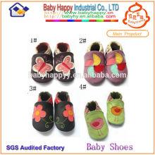 Sapatos de balé de bebê de alta qualidade baratos de moda