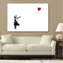 Black and White Kids with balloon Picture