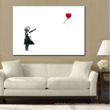 Черно-белые дети с воздушным шаром фото
