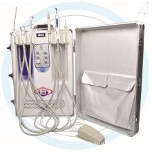 Tragbare Dentaleinheit mit Saug- und Handstück mit CE