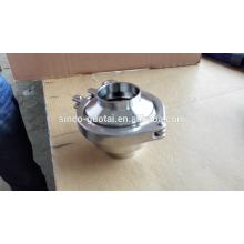 304 316 válvula de não retorno sanitária para grau alimentício