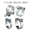 T-baut Clamps dengan Hollow Shaft