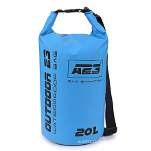Promotional Swimming Diving 20L Waterproof Barrel Backpack Dry Bag (YKY7281)