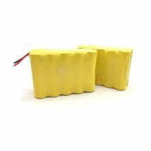 Paquete de baterías recargables Ni-Cd 12V AA600