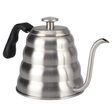 Stainless steel pour out coffee pot