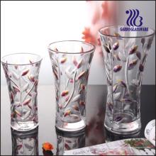 Jarrón de vidrio coloreado (GB1510SY / PDS)