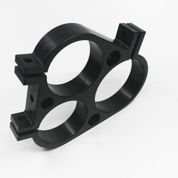 Plastic block for milling