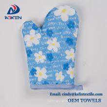 customized photo printing 100% polyester microfiber kitchen towel set