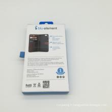 prix personnalisé taille personnalisée recycler boîte de carton pliable