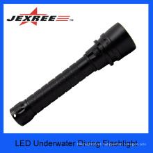 JEXREE CREE XM-L2U2 Lâmpada de mergulho brilhante super do diodo emissor de luz escondeu a luz do mergulho